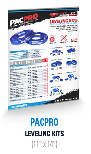 PacPro Leveling Kit Plexi Display