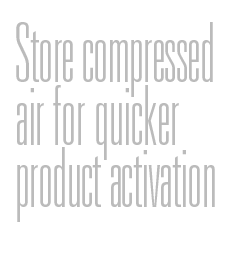 Store compressed air